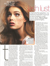Eyelash Extension has been featured in this month's Vogue!