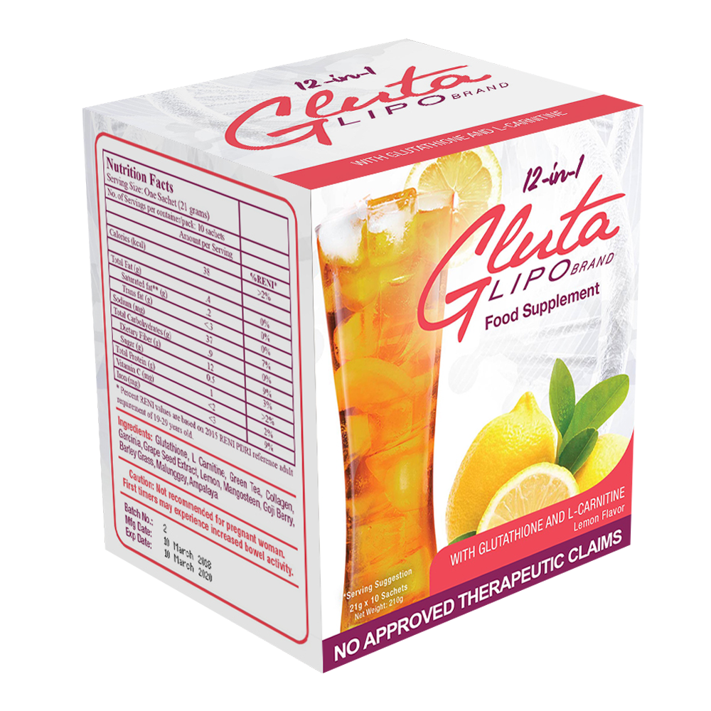 12 in 1 Glutalipo Detox Juice