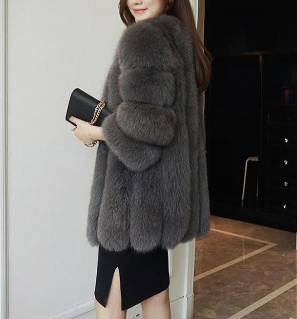 Audrey Coat- Dark Grey