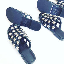 Bella Studded Flats - 5 Row