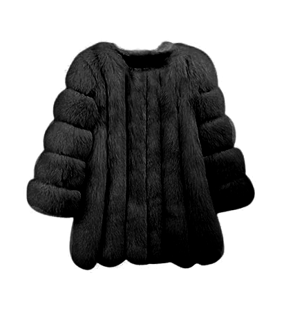 Audrey Coat- Black
