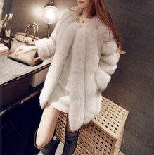 Audrey Coat- Natural White