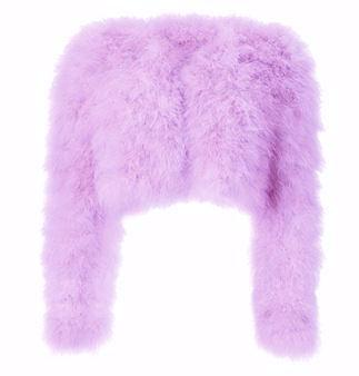 Kendall Feather Jacket - Lavender