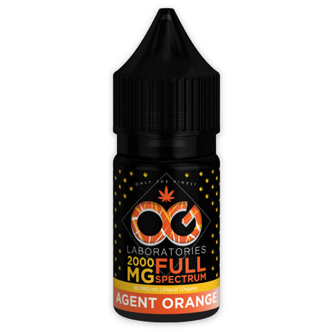 OG CBD Full Spectrum Eliquid - Agent Orange