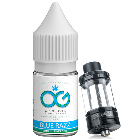OG CBD Eliquid - Blue Razz