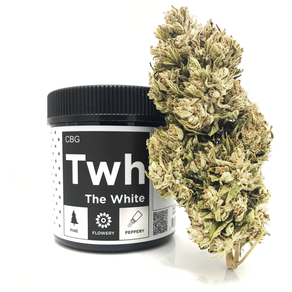 OG CBG Hemp Flower - The White