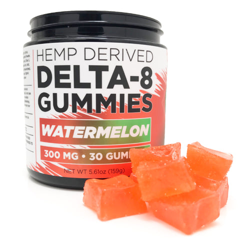 Delta 8 Gummies - Watermelon