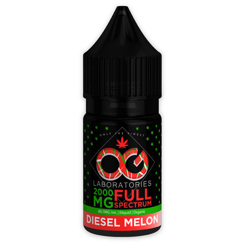 OG CBD Full Spectrum Eliquid - Diesel Melon