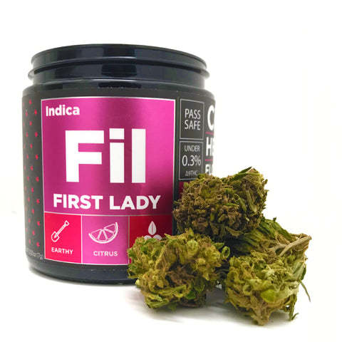 OG CBD Hemp Flower - First Lady