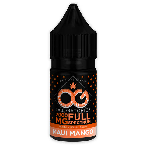 OG CBD Full Spectrum Eliquid - Maui Mango