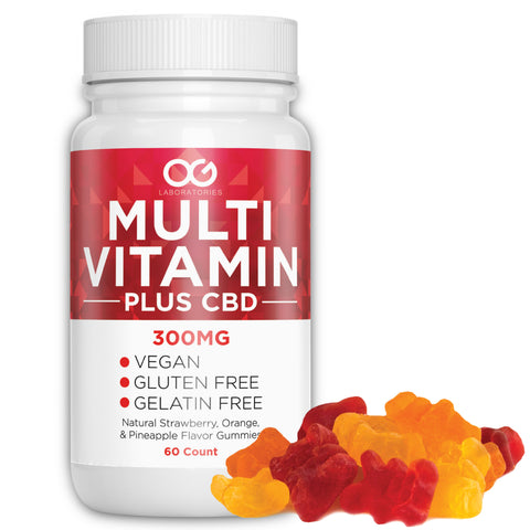 OG CBD + Multi Vitamin Gummies - 60 Count