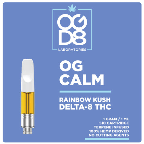 Delta 8 Vape Cartridge - Calm