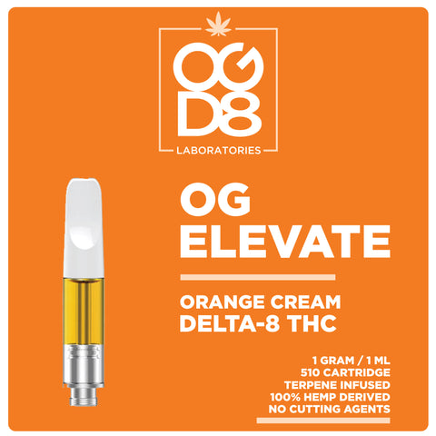 Delta 8 Vape Cartridge - Elevate