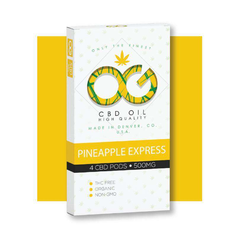 OG CBD Pineapple Pods (Pack of 4)