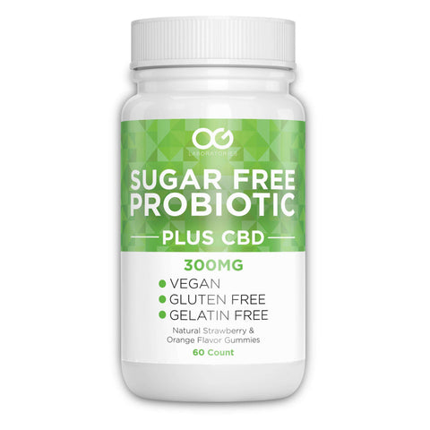 OG CBD + Probiotic Gummies - Sugar Free - 60 Count