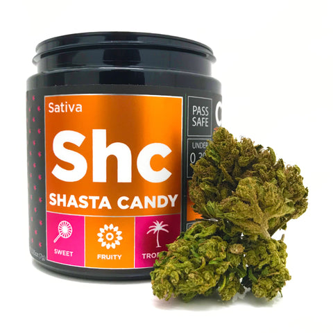 OG CBD Hemp Flower - Shasta Candy