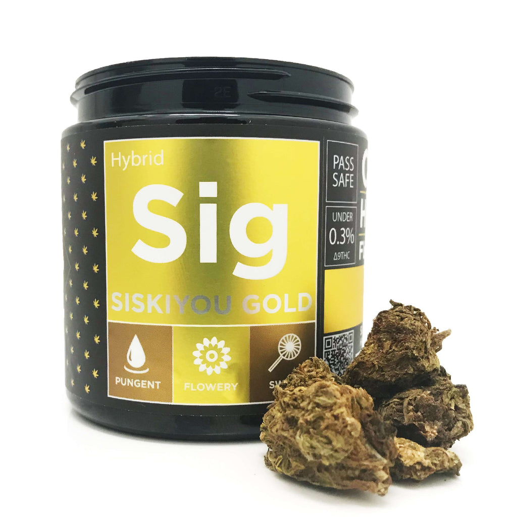 OG CBD Hemp Flower - Siskiyou Gold