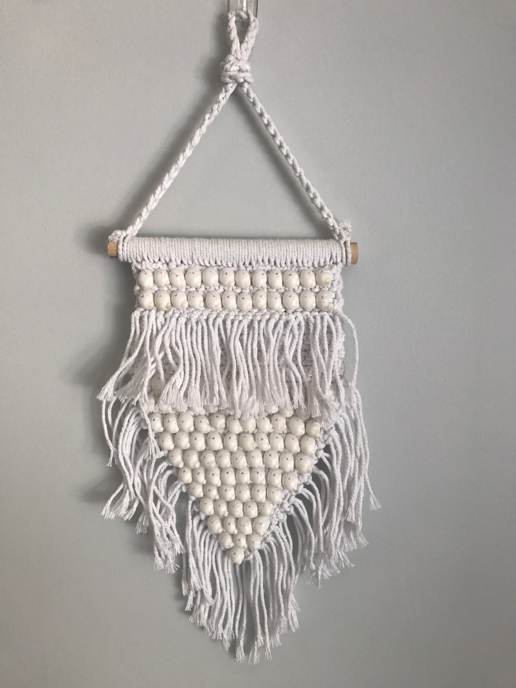 Mermaid Shell Macrame