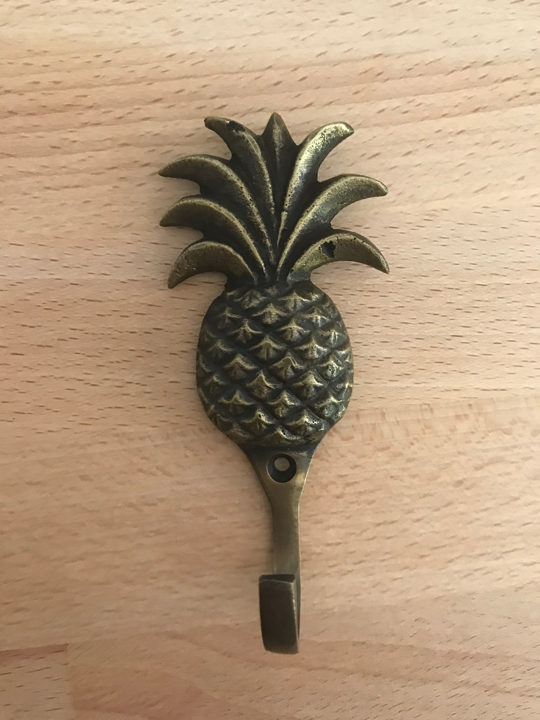 Pineapple Brass Hook