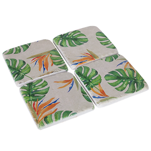 Resin Drink Coaster Set Paradise
