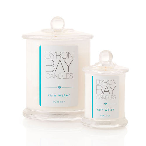 Byron Bay Candle Rain Water