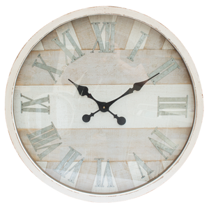 Washed Wall Clock