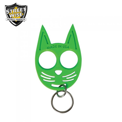 Streetwise My Kitty Self-Defense Keychain Glow in the Dark - RNO SECURITY PRODUCTS