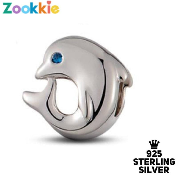 925 sterling silver dolphin