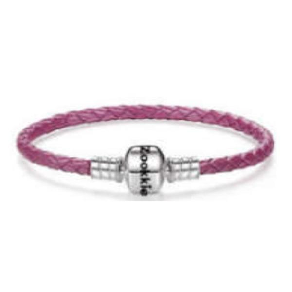 Light Purple Leather Bracelet bracelet - Zookkie Pty Ltd
