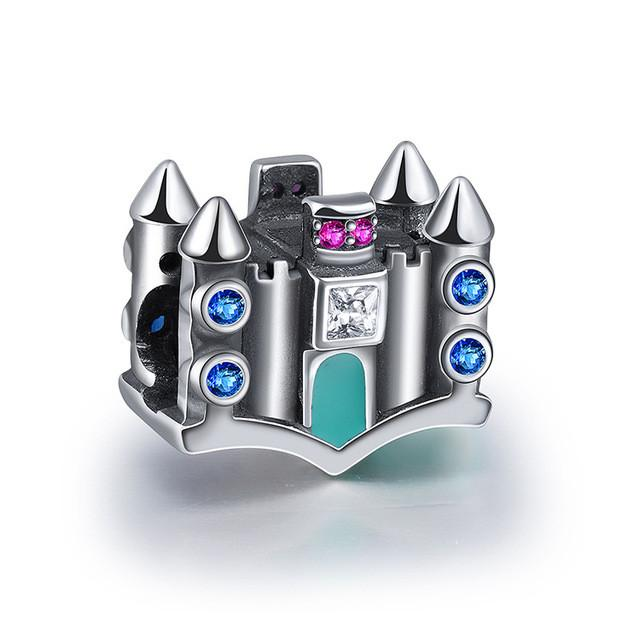 925 sterling silver princess castle