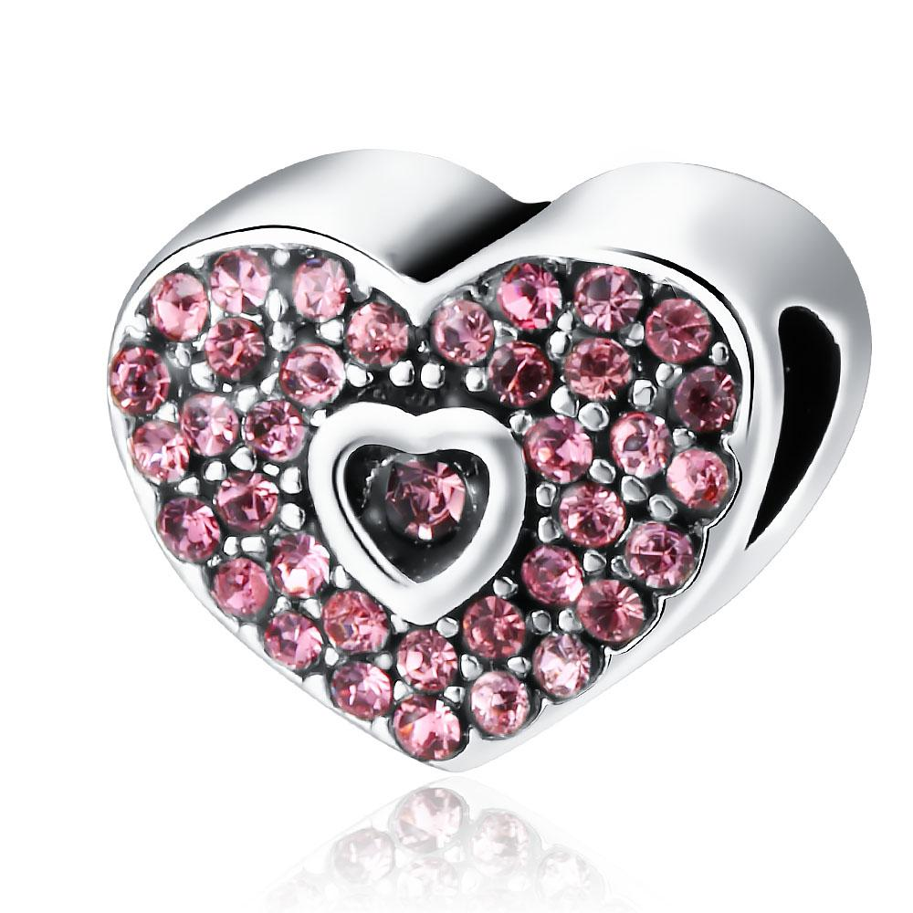Pink Crystal Heart