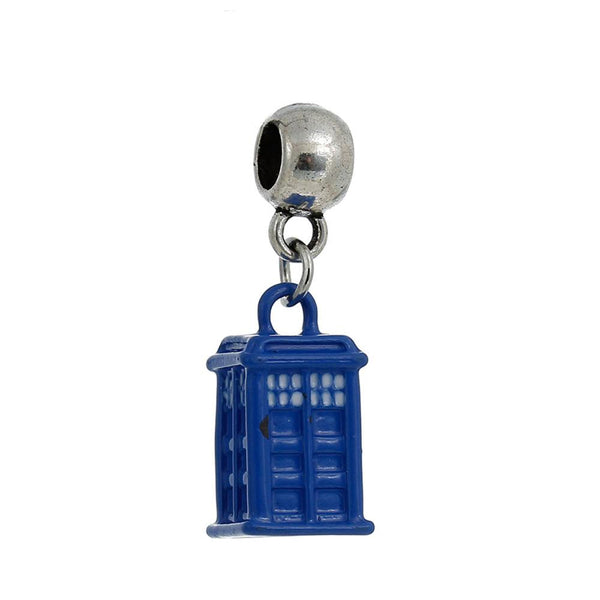 The Tardis charm - Zookkie Pty Ltd