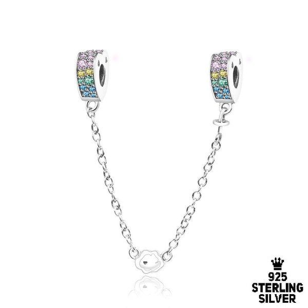 Rainbow Safety Chain charm - Zookkie Pty Ltd
