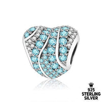 Blue Heart charm - Zookkie Pty Ltd