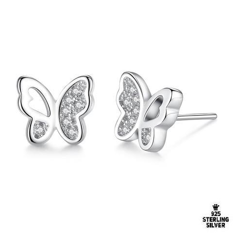 Winged Butterfly Earrings