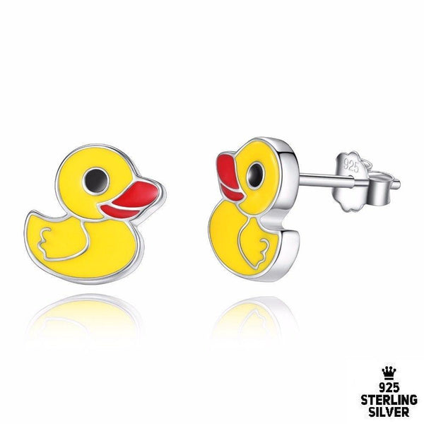 Little Duck Stud Earring