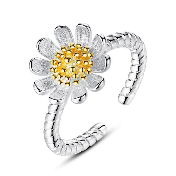 Sunflower Adjustable Ring