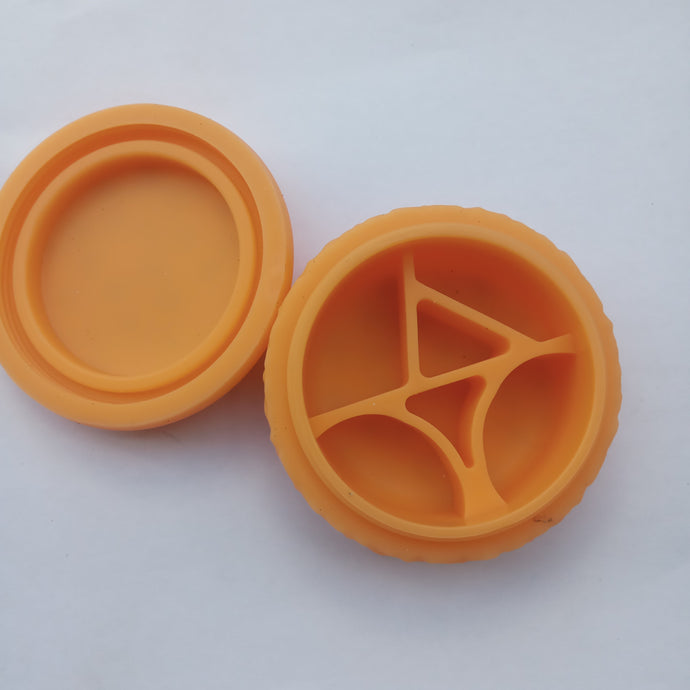 Cookie Silicone Stash Jar 80mm - Fancy Puffs Smoke Shop
