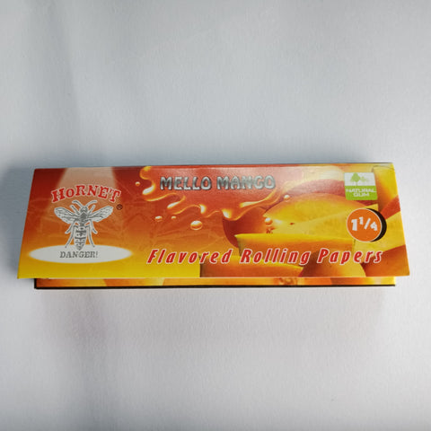 Hornet Mello Mango Flavored Rolling Papers 11/4 - Fancy Puffs Smoke Shop