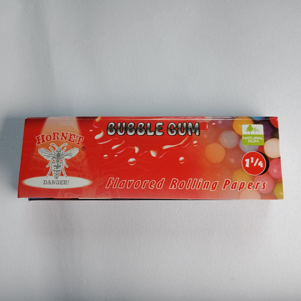 Hornet Bubblegum Flavored Rolling Papers 11/4 - Fancy Puffs Smoke Shop