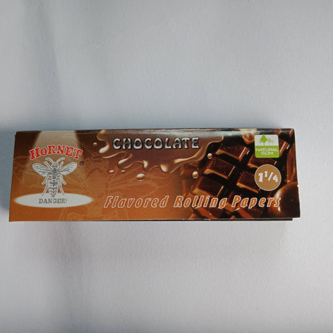 Hornet Chocolate Flavoured Rolling Papers 11/4 - Fancy Puffs Smoke Shop
