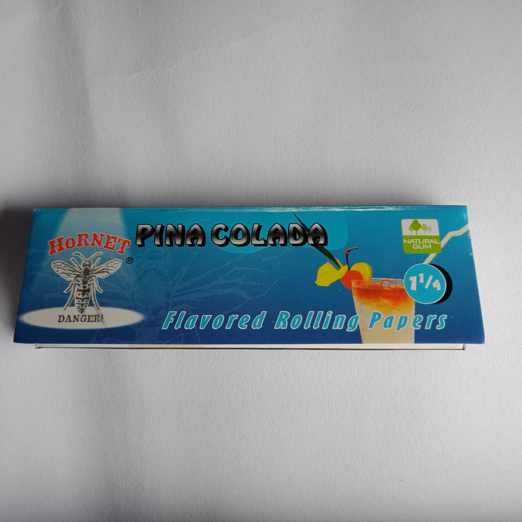 Hornet Pina Colada Flavored Rolling Papers 11/4 - Fancy Puffs Smoke Shop