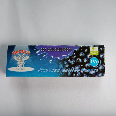 Hornet Blueberry Flavored Rolling Papers 11/4 - Fancy Puffs Smoke Shop