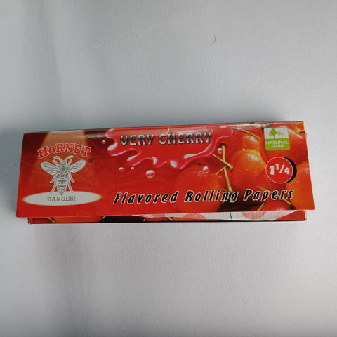 Hornet Very Cherry Flavored Rolling Papers 11/4 - Fancy Puffs Smoke Shop