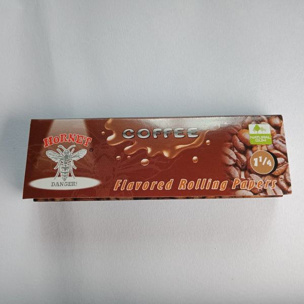 Hornet Coffee Flavoured Rolling Papers 11/4 - Fancy Puffs Smoke Shop
