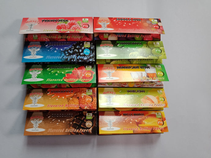10x Hornet Flavored Rolling Papers 11/4 - Fancy Puffs Smoke Shop