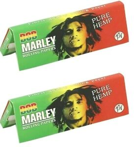 Bob Marley 11/4 Size Pure Hemp - Fancy Puffs Smoke Shop