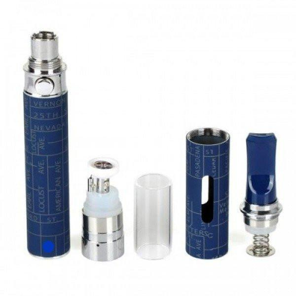 Snoop Dogg Pen Vaporizer Box Kit - Blue - Fancy Puffs Smoke Shop