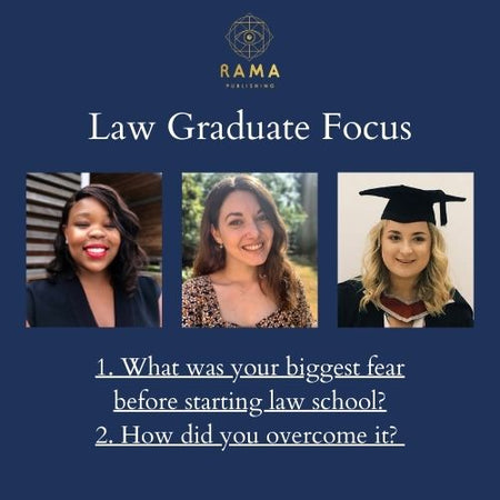 Three law graduates share their biggest fear before starting law school