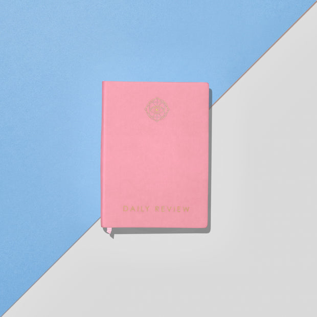 Daily Review Goal Planner : Persian Pink Cover (Coral Edge)